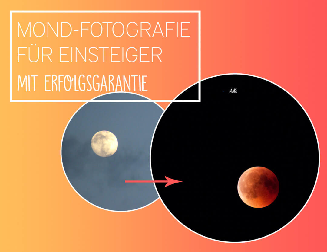 Mond-Fotografie für Anfänger