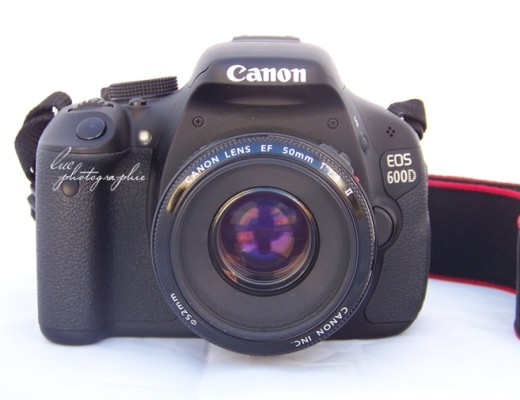 Canon EOS 600D frontal 50mm