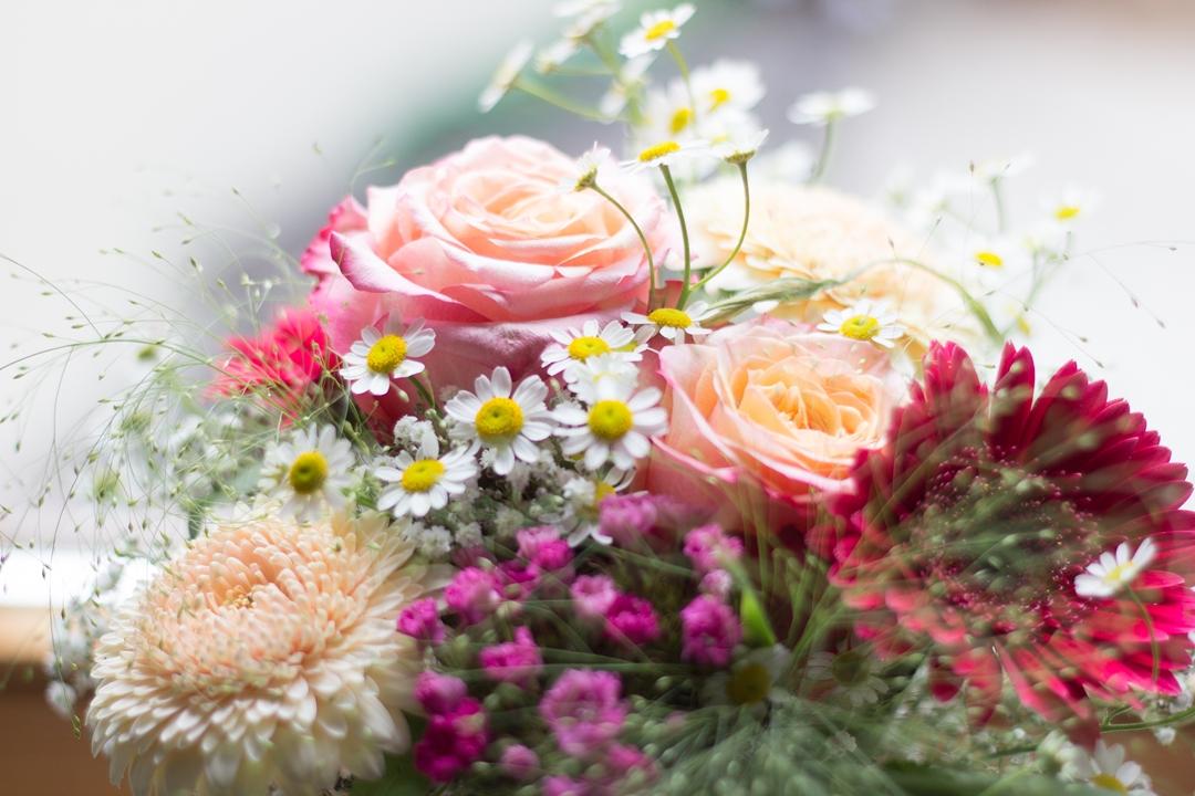 Blumenstrauß-Hochzeit