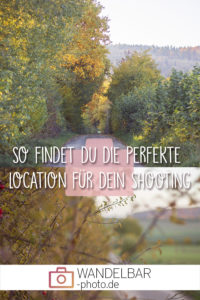 Planung ist die halbe Miete. Auch bei einem #Shooting! Und bei diesen ist es besonders wichtig, die #Location schon vorher zu kennen.