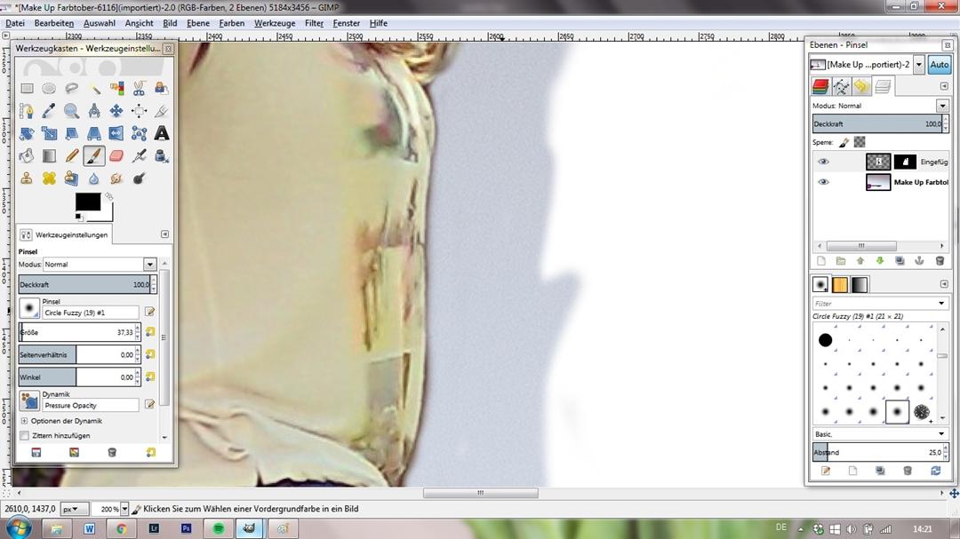Schritt 4 - Maske und freistellen Detail