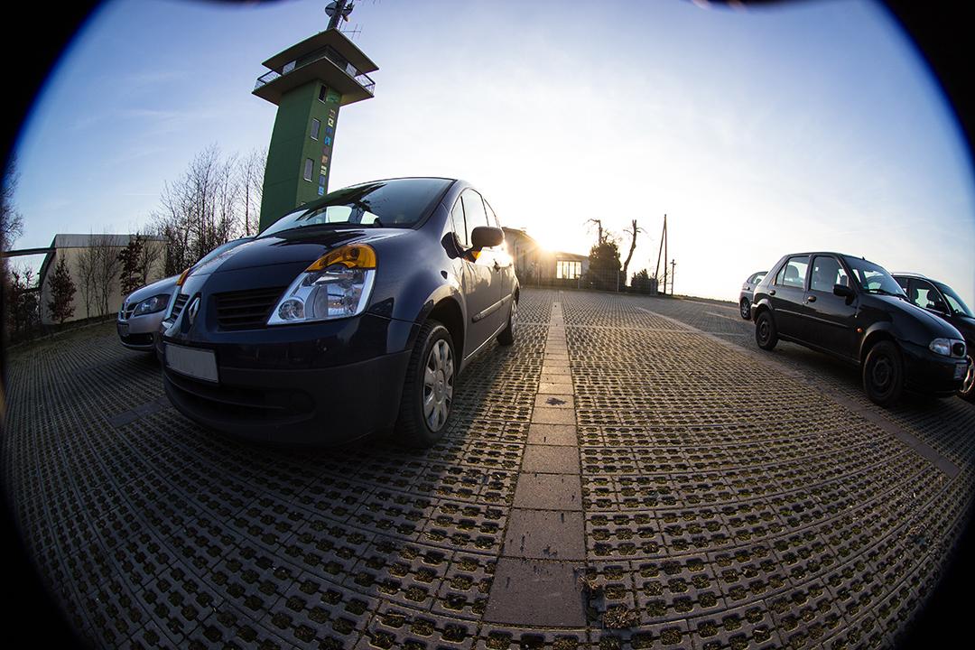 Fisheye Auto Gegenlicht