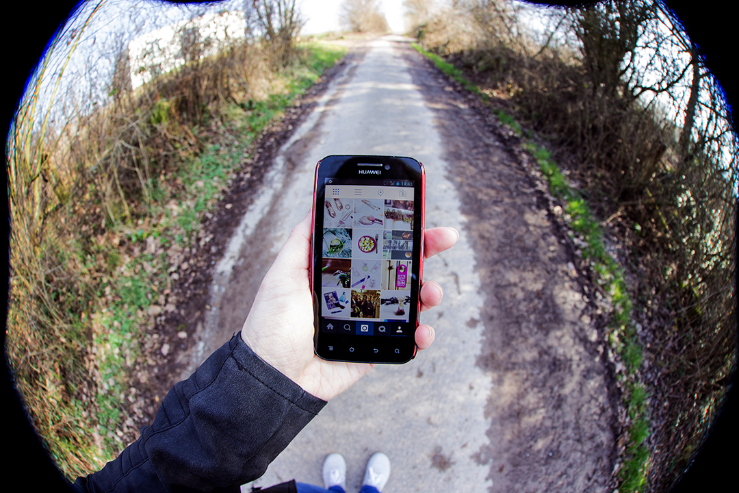 Fisheye Smartphone Instagram