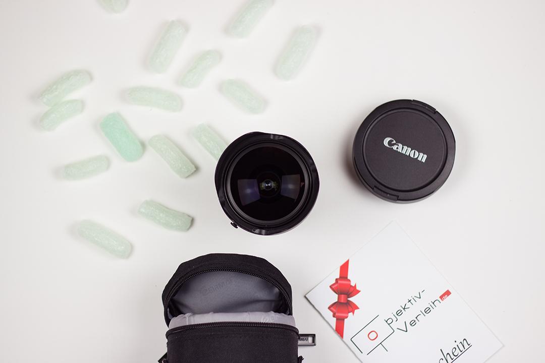 Fisheye-Objektiv Canon