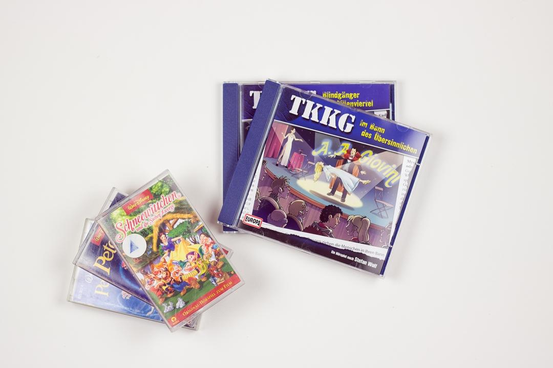 TKKG CDs und Kassetten