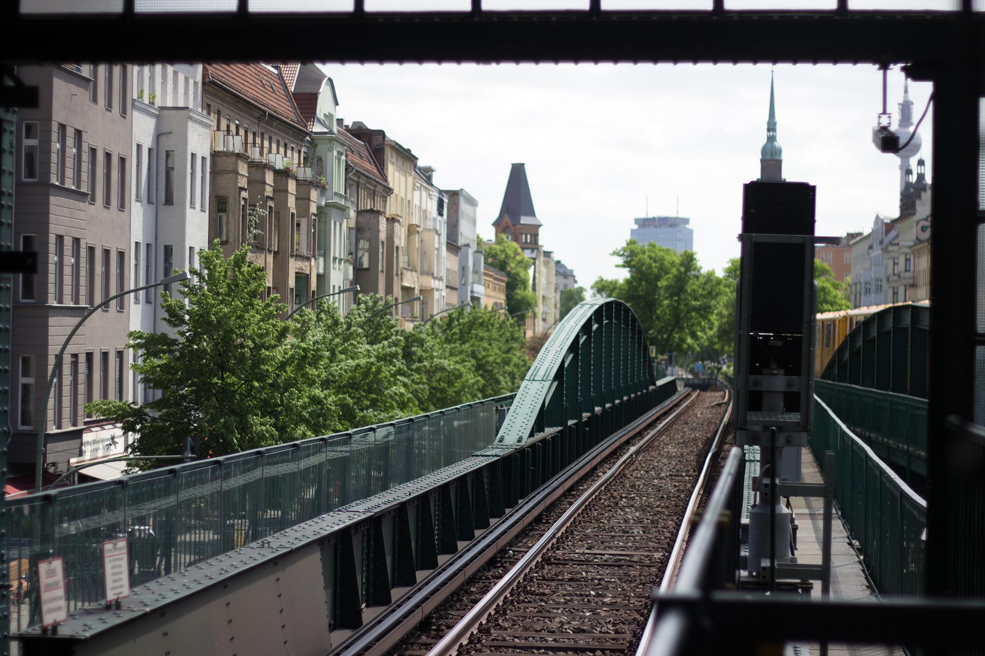 S-Bahn Brücke Berlin
