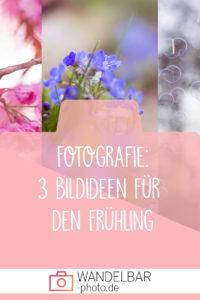 Fotografie: 3 Bildideen für  den Frühling