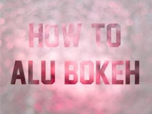 Alu-Folien-Bokeh Thumbnail