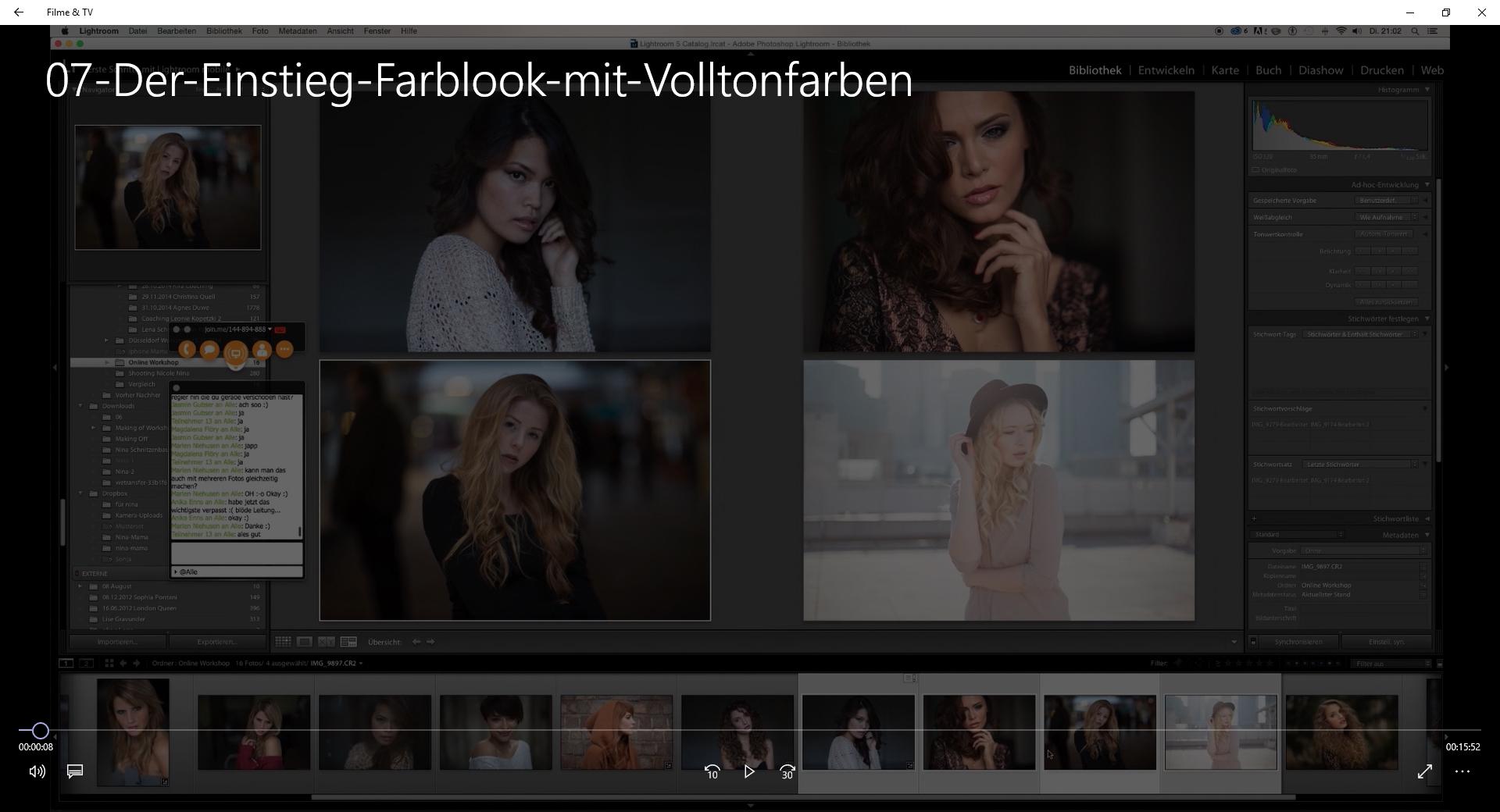 Nina Schnitzenbaumer Photoshop Einstieg