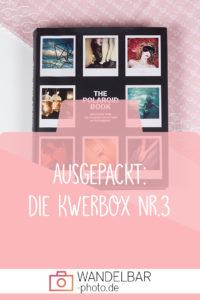 Ausgepackt: Was war in der dritten Fotografenbox #Kwerbox?