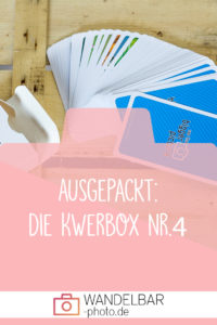 Das war in der Fotografiebox #Kwerbox Nr.4