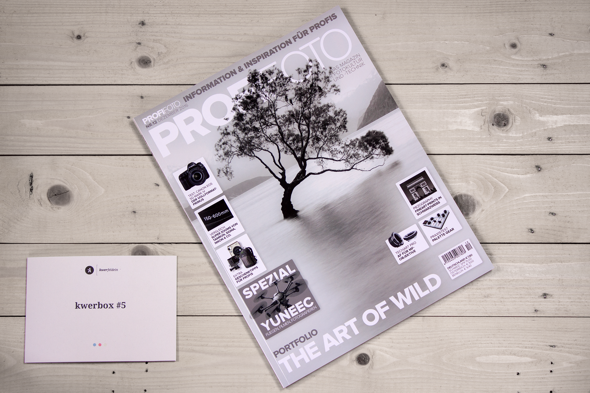 Kwerbox Nr.5 Unboxing Profifoto Magazin