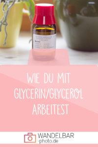 So erstellst du coole Bilder mit Glycerin