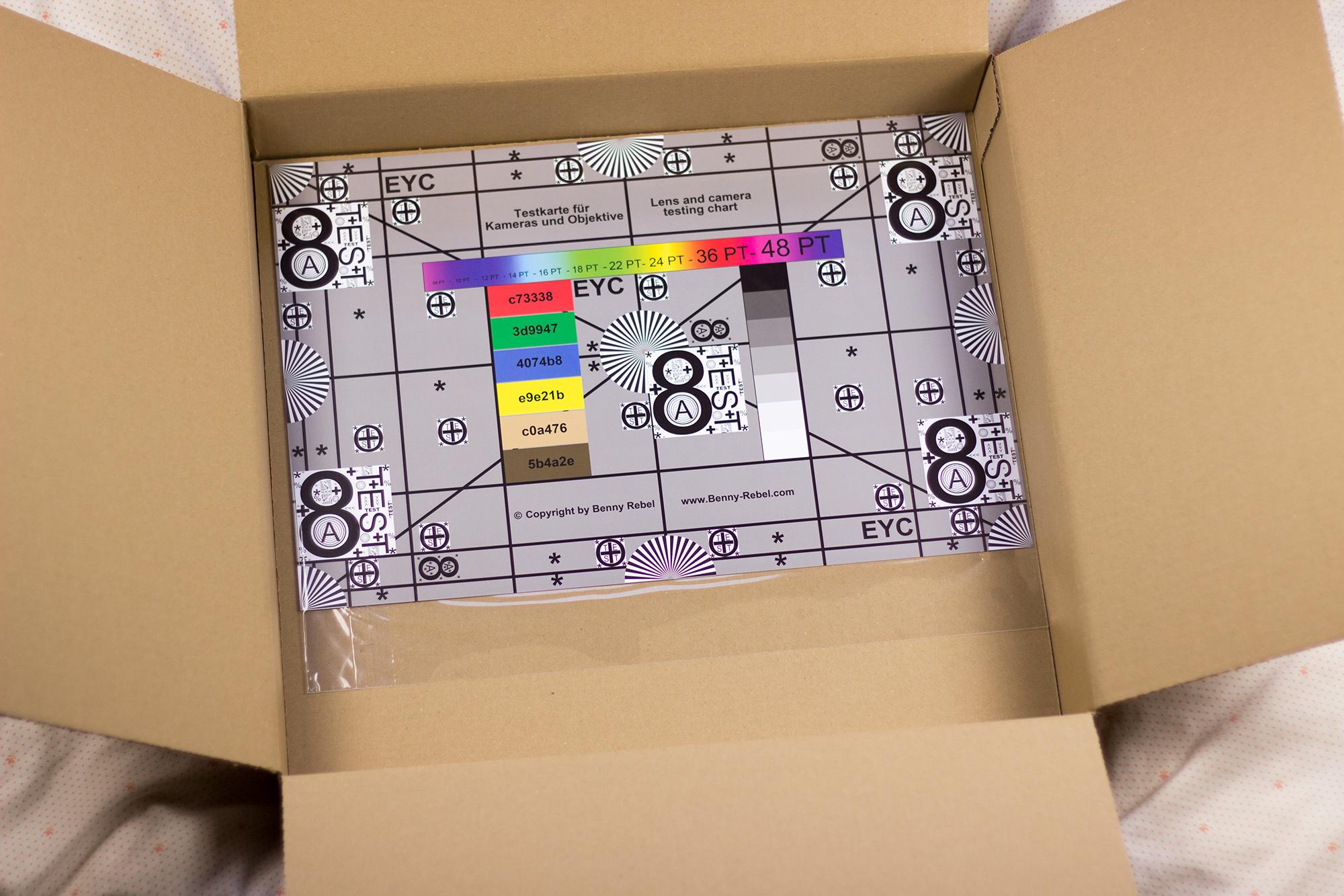 Kwerbox 6 Inhalt Messfeld Kamera Objektive