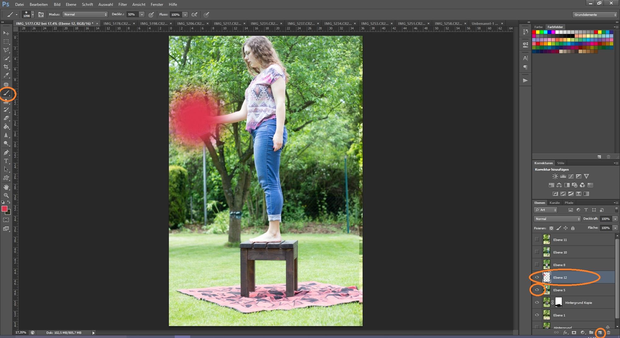 Levitation Schritt 4 Bildbearbeitung