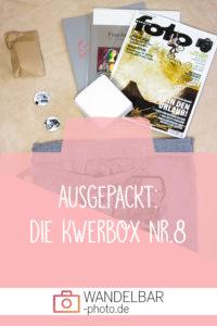 Unboxing: Das war in der #Kwerbox Nr.8
