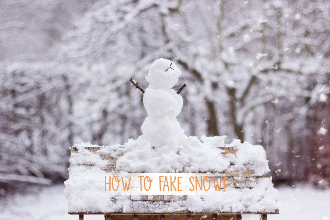 How to Schneefall faken