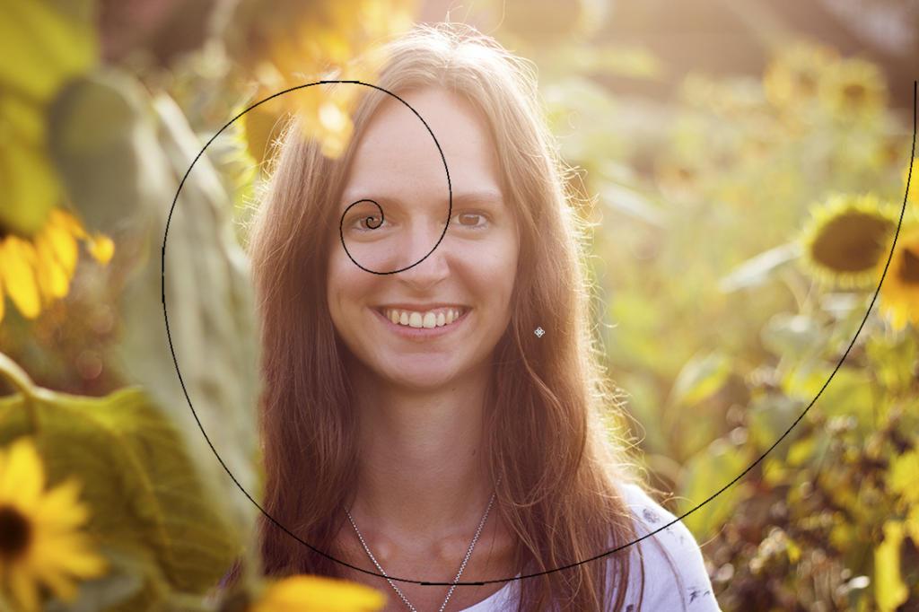 Gestaltungs-Regel Goldene Spirale Bild