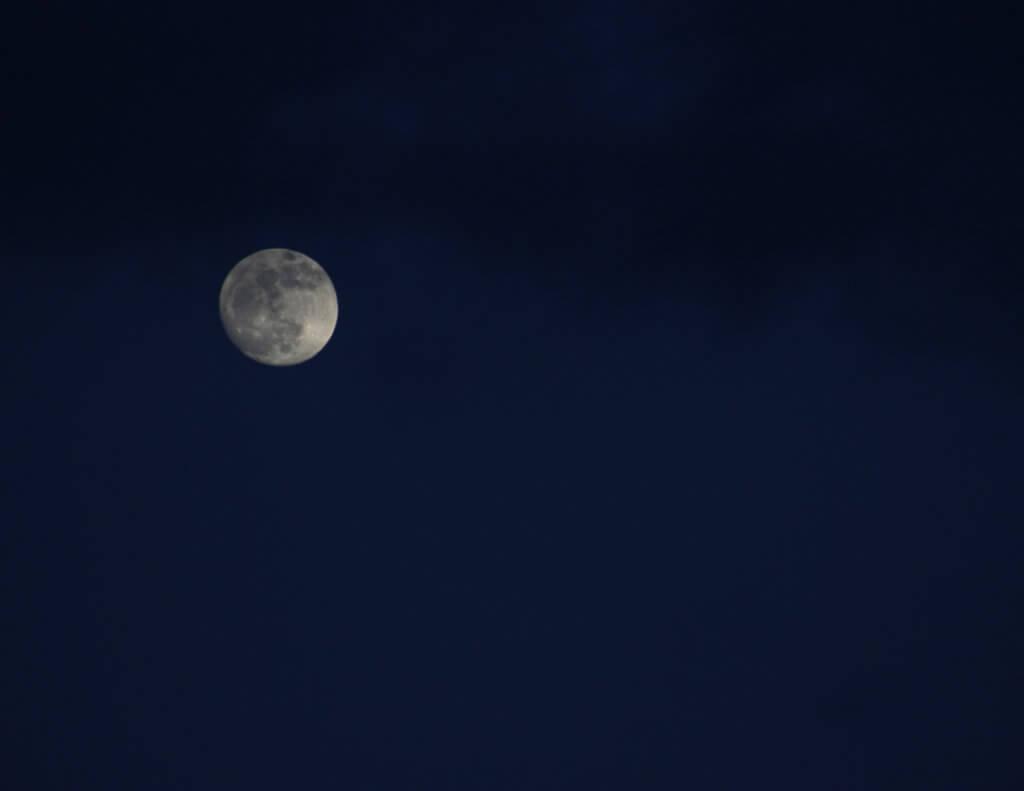 Mond-Fotografie Einsteiger 2014