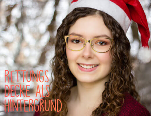 Rettungsdecke Weihnachtlich Cover